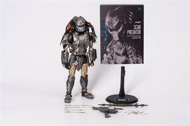 HC TOY AVP Alien VS Predator Scar Predator 1 6 Action Figure Collection New C