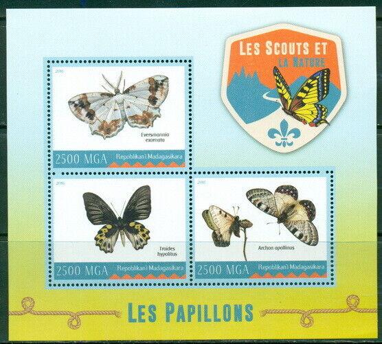 2016 Papillons Bloc-feuillet Insectes Scouts 400420 Les Clients D'Abord