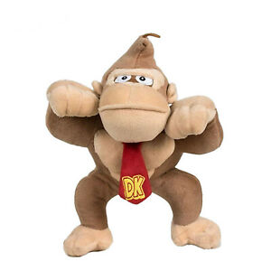 OFFICIAL-NINTENDO-SUPER-MARIO-12-034-DONKEY-KONG-PLUSH-SOFT-TOY-TEDDY-NEW-WITH-TAGS