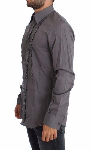 NWT $600 DOLCE /& GABBANA Purple Torero GOLD Slim Fit Dress Shirt 42 //US16.5 XL