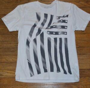 e441d6010 Lg Apt 9 Men's Graphic Tee Crew Neck T- Shirt American Flag USA ...