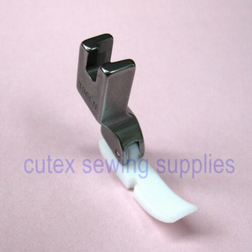 Left Narrow Zipper Foot With Teflon Bottom For Industrial Sewing Machine #T36LN