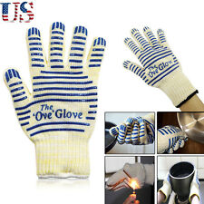2pcs The Ove Glove Heavy Duty Oven Glove Washable Non-slip Grip Kitchen Tool US