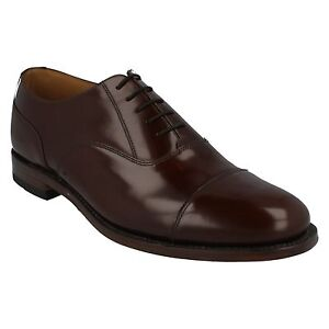 MENS LOAKE 200CH BROWN LEATHER OXFORD LACE UP WEDDING//OFFICE LEATHER SOLE SHOES