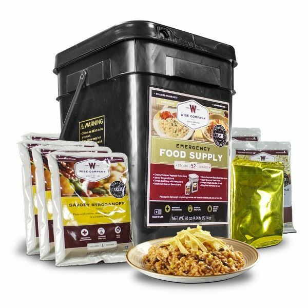 Wise Food Storage Reviews Stunning 60 Servings Of Wise Freeze Dried Emergency Food And Drink Storage EBay