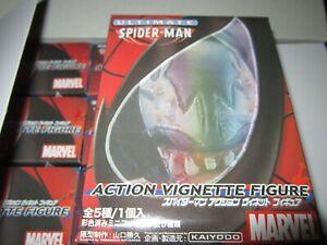 MARVEL-Ultimate-SPIDERMAN-Action-Figures-12-new-boxes-of-mini-Vignette-KAIYODO