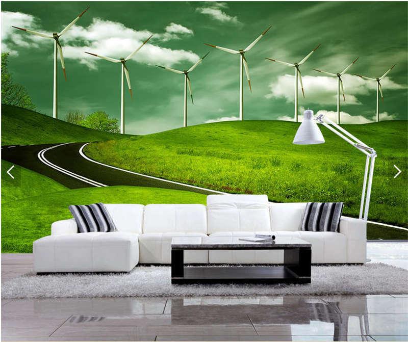 Timeless Grassland 3D Full Wall Mural Photo Wallpaper Printing Home Kids Decor