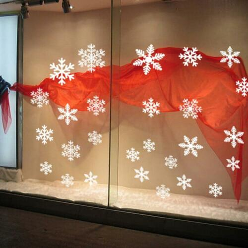 Merry Christmas Gift Wall Window Stickers Decals XMAS Home Shop Decor FA