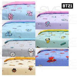 BTS-BT21-Official-Authentic-Goods-Cotton-Comforter-Comic-Pop-Ver-Express-Ship