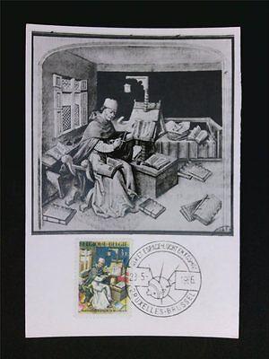 SchöN Belgien Mk 1966 Wisssenschaft Bibliothek Maximumkarte Maximum Card Mc Cm C5716 Extrem Effizient In Der WäRmeerhaltung Briefmarken Diverse Philatelie