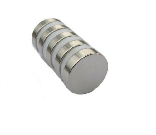 2 4 6 8 10 x Grade N52 Permanent Neodymium Magnets 20mm x 3mm Fridge 2cm Disc
