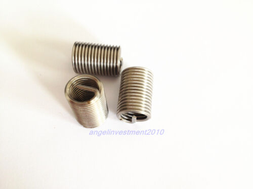 100pcs New M14*2 2D insert length helicoil Stainless Steel Screw Thread repair