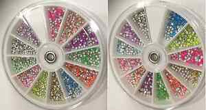 NEON-METAL-STUDS-GEMS-RHINESTONES-3D-NAIL-ART-GOOD-QUALITY-BEST-PRICE