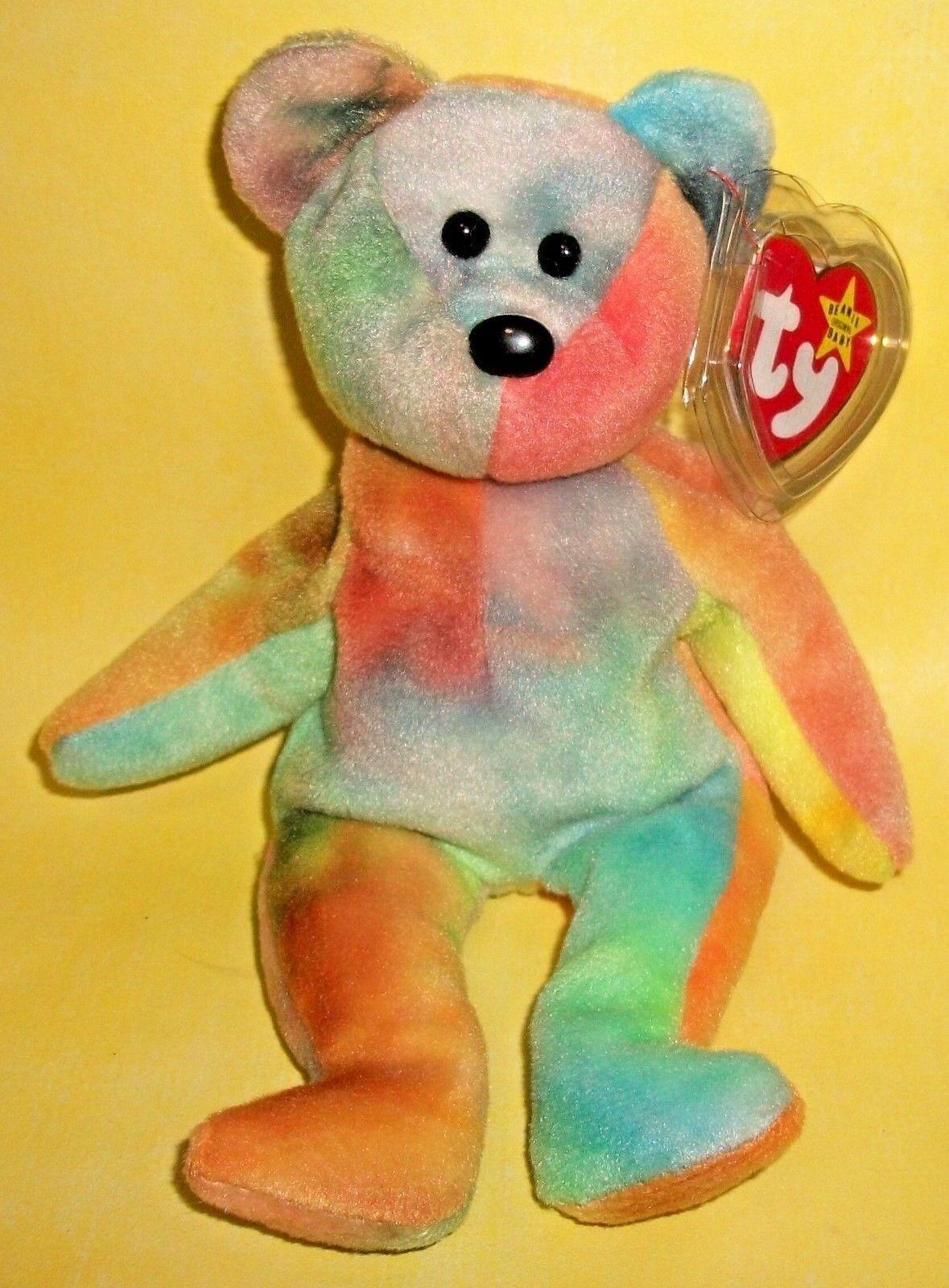 TY Beanie Baby GARCIA The Bear PERFECT CHRISTMAS GIFT, MINT  A+  RARE ERRORS