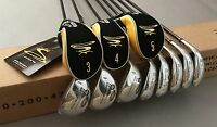 King Cobra Transition S Irons 3-pw 65g Standard Flex Graphite Golf Club Set