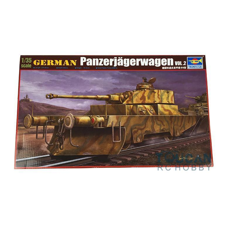 Trumpeter Armored Car 1 35 German Panzerjagerwagen Panzer IV Turret Vol.2 00369