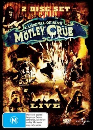 1 of 1 - Motley Crue - Carnival Of Sins - Live (DVD, 2005) R4