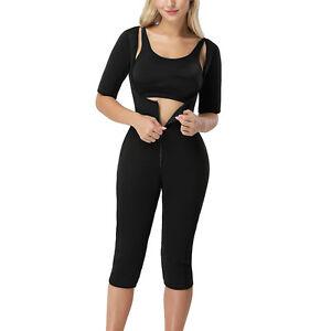 e5d1a565ca20f Women Full Body Shaper Corset Arm Shaper Compress Slimming Bodysuit ...