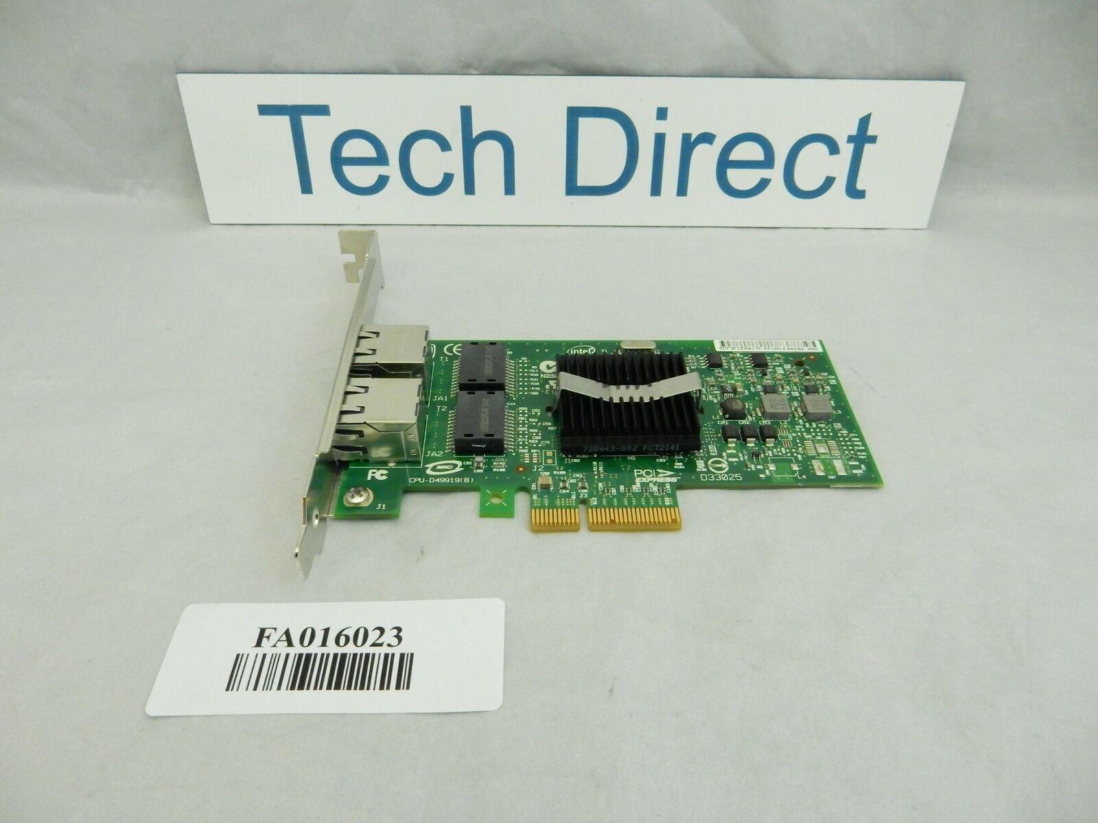 IBM 46K6601 1Gb 2-Port PCIe Ethernet -TX (X4) FH Long Bracket 5767