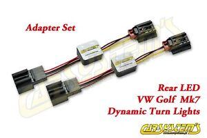 VW-Golf-7-5G-VII-Semi-Dynamische-Dynamic-Blinker-Laufblinker-LED-Ruckleuchten