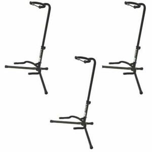 On-Stage Xcg4 Black Tripod Guitar Stand, 3 Pack