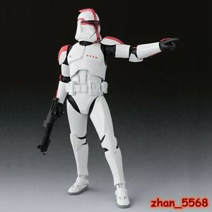 S.H.Figuarts Star Wars Clone Troopers Phase 1 Captain Action Figure New In Box