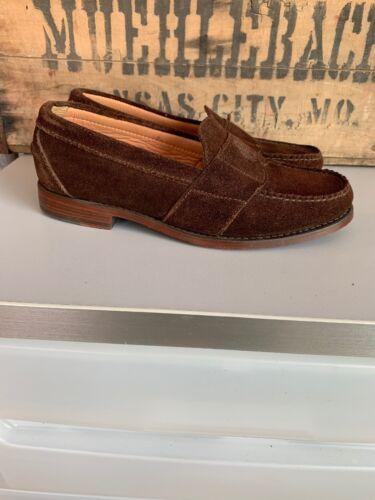 Vintage Polo Ralph Lauren Men's Brown Suede Crest
