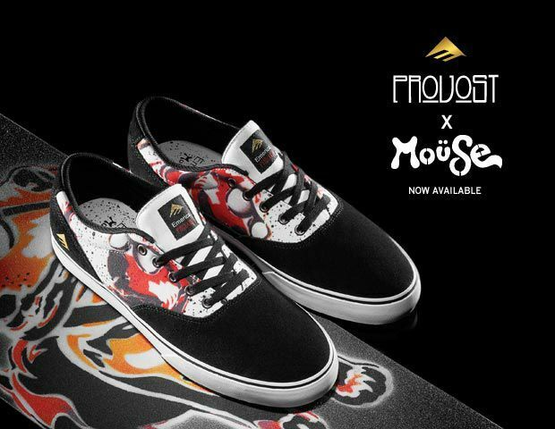 SNEAKERS EMERICA PROVOST SLIM VULC X MOUSE