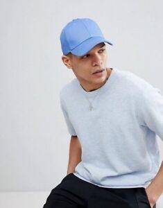 code de promo achat le plus récent vente la moins chère Détails sur Pour Hommes Femmes Bleu Clair Profil Bas Uni Casquette Baseball  Sport Loisir