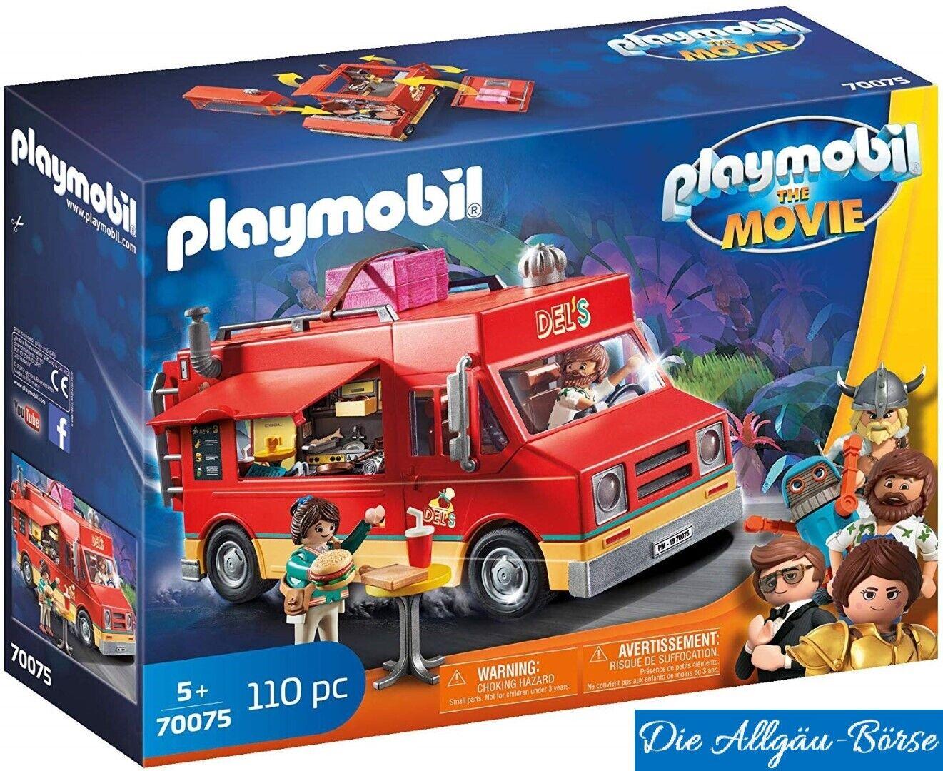 Playmobil 70075 Del `S Food Camion il Film Spuntino Autocarro