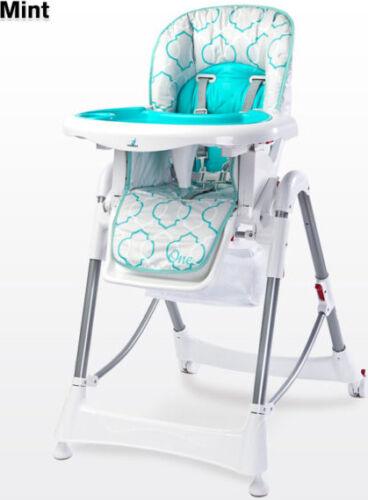 ONE CARETERO Hochstuhl Faltbar Babystuhl Verstellbar Kinder Stuhl mit Esstisch