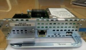 CISCO NME-CUE Unity Express Module Permanent 250 Mailbox 8-Port 80Gig CUE-7.0.6