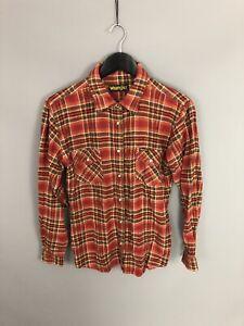 Wrnagler-Retro-Shirt-Size-Medium-kariert-super-Zustand-Damen