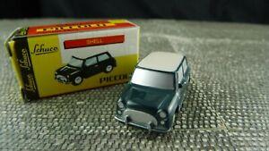 Schuco-Piccolo-1-90-Austin-Mini-Copper-gruen-weiss-Sch96