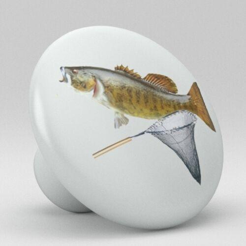 FISHING LURE Ceramic Knobs Pulls Kitchen Drawer Cabinet Vanity Closet 810 Pantry