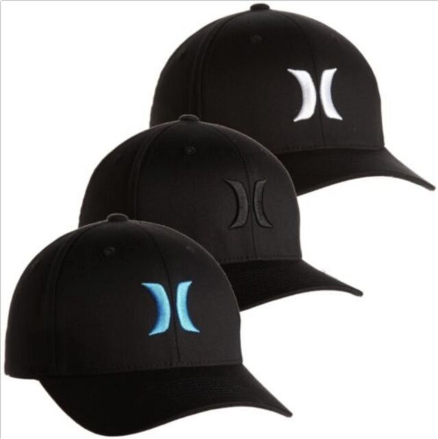 great prices aliexpress wholesale Hurley Men's One and Only Flex Fit Stretch Fitted Hat Cap - Black White