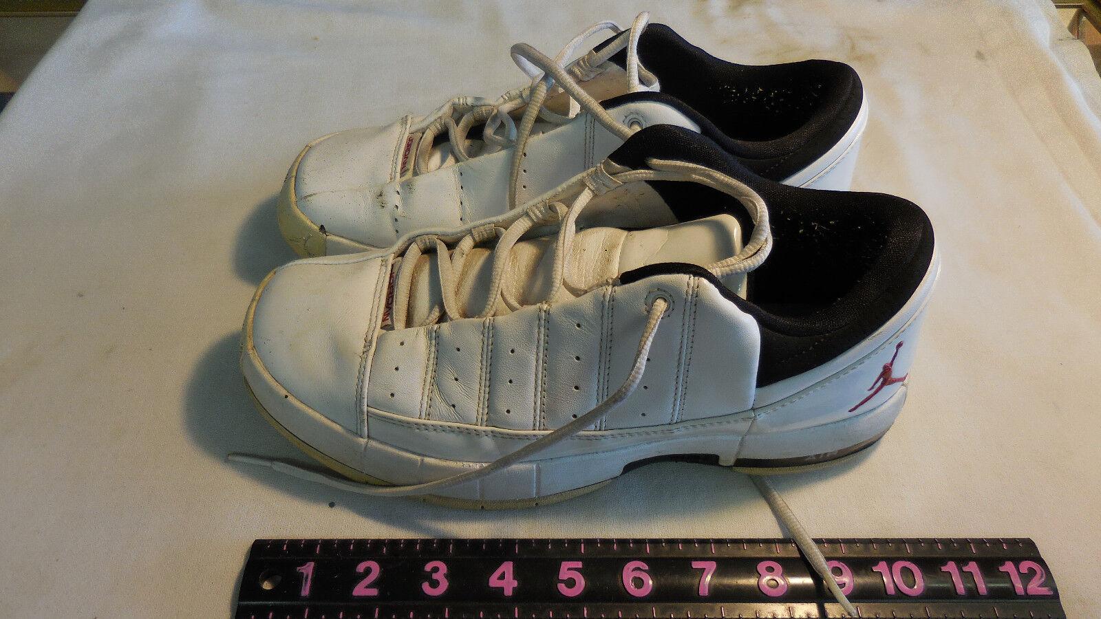 Men's Nike Air Jordan TE2  low top basketball shoes size 8 Cheap and beautiful fashion