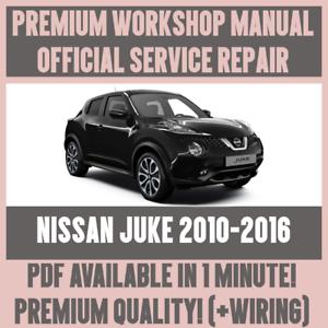 workshop manual service repair guide for nissan juke 2010 2016 rh ebay co uk nissan juke service repair manual nissan juke shop manual