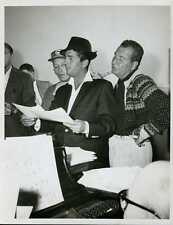 "Dean Martin Bing Crosby Phil Harris Original 7x9"" Photo #J803"