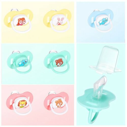 Newborn Kids Baby Silicone Orthodontic Soother Dummy Pacifier Nipple Charm