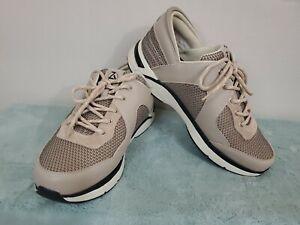 Zeba-Men-s-Handsfree-Sneakers-Tennis-Shoes-Tan-Sz-11-5-W-Slip-On-Comfort