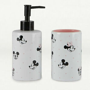 Disney Mickey And Minnie Mouse Soap, Minnie Mouse Bathroom Accessories