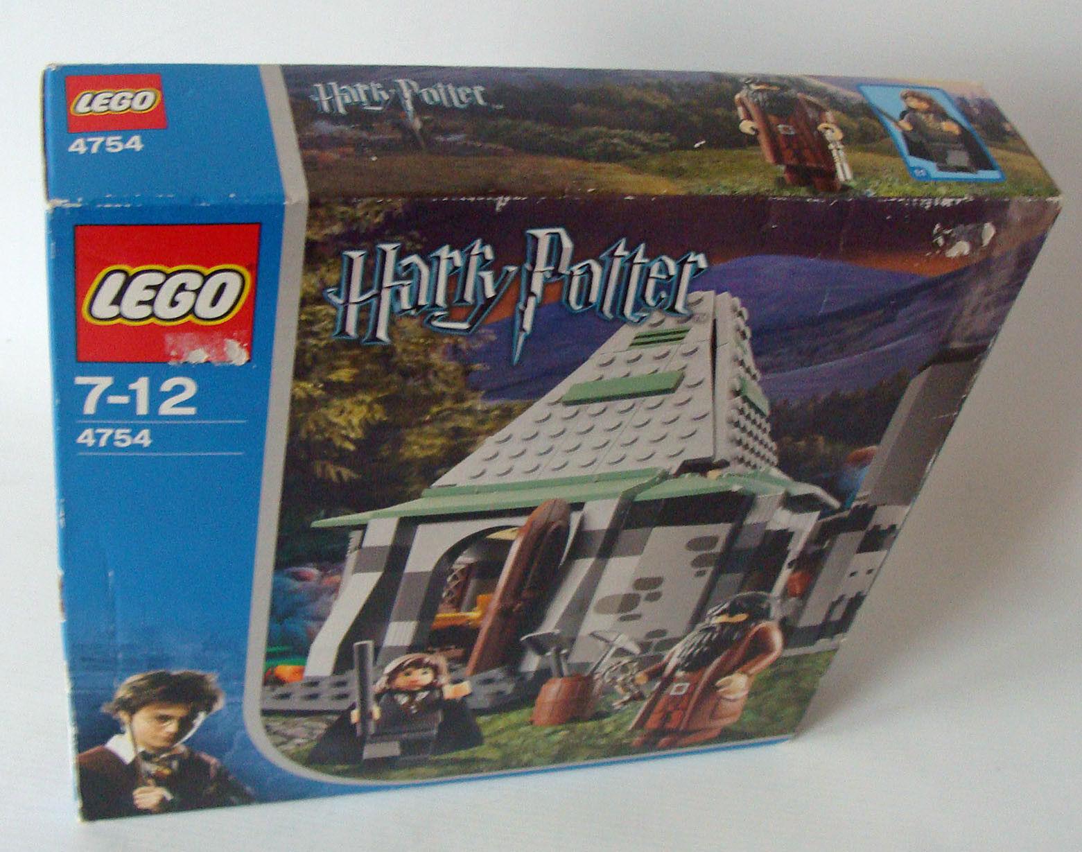 Lego® Harry Potter 4754 - Hagrids Hütte 302 Teile 7-12 Jahren Neu New
