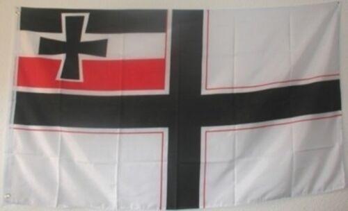 Drapeau EMPIRE DRAPEAU dr0136 German Empire flag ww I drapeau wk I env. 90x150cm NEUF