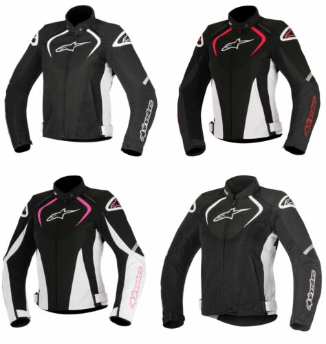 Alpinestars Motorcycle Bike Stella T-Jaws WP Textile Sport Women Riding Jacket