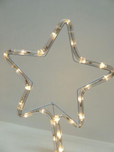 Outdoor Garden Lighting Or Indoor U UK-Gardens Ropelight Star Pathway Lighting