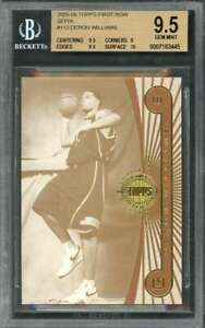 Deron-Williams-Rookie-2005-06-Topps-First-Row-Sepia-113-BGS-9-5-9-5-9-9-5-10