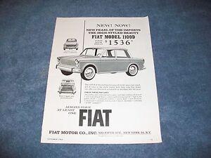 1964 Datsun P 410-U Sedan Original Car Print Article J330