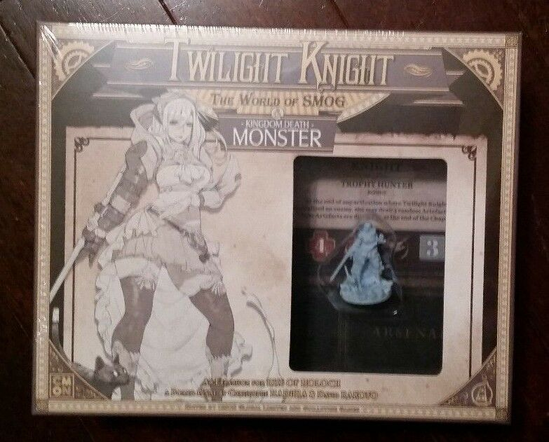 World of SMOG Rise of Moloch Kingdom Death Steampunk Twilight Knight
