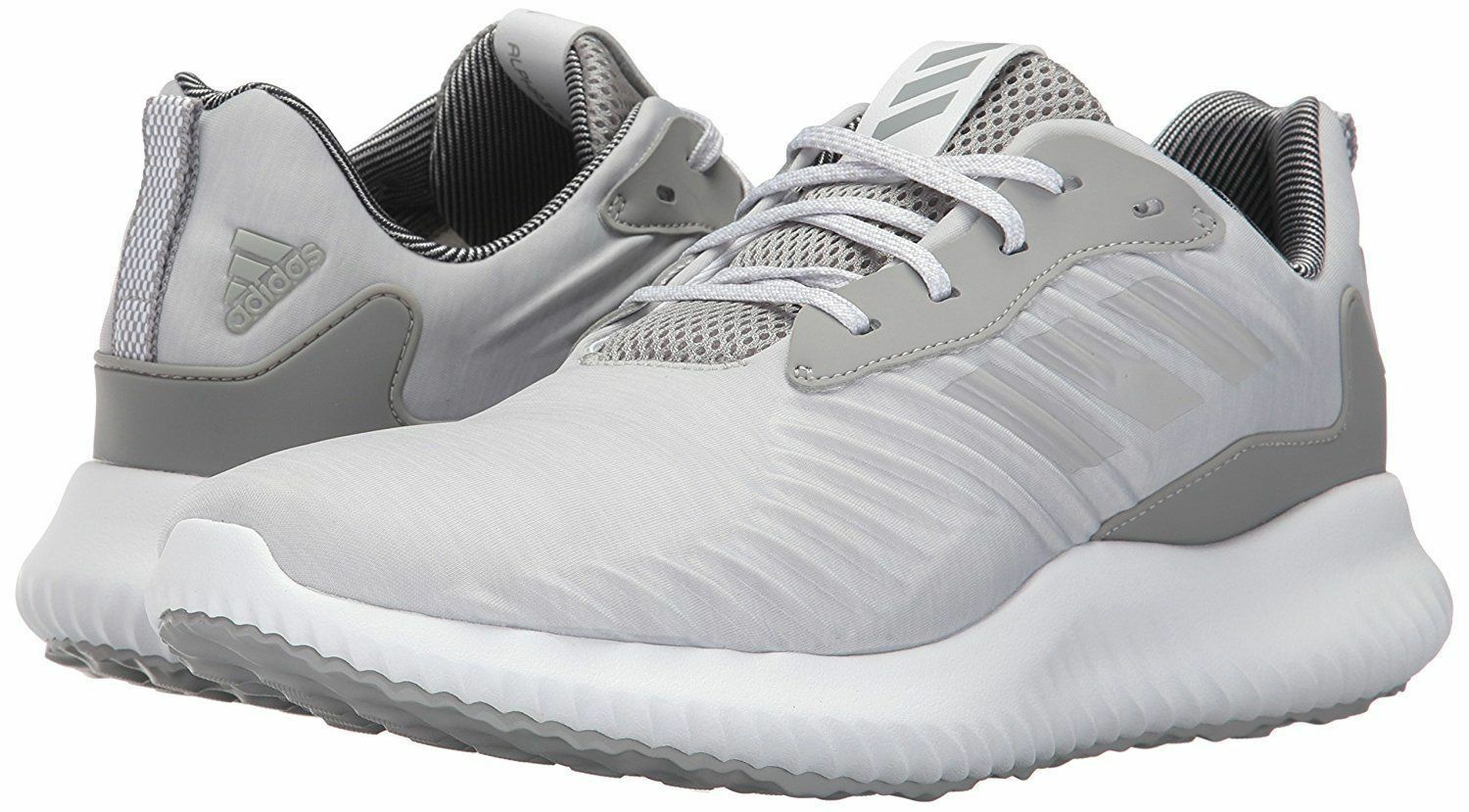 ADIDAS ALPHABOUNCE RC LOW RUNNING SNEAKERS MEN SHOES GREY B42863 SIZE 10.5 NEW